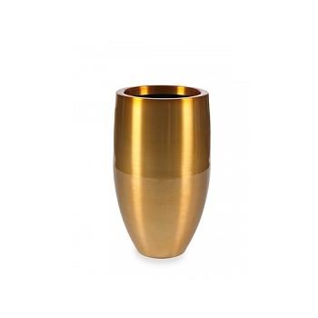 Кашпо Plants First Choice Aluminium planter bubba gold, под цвет золота-orange  Диаметр — 49 см