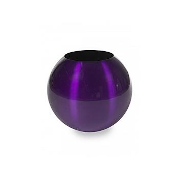 Кашпо Plants First Choice Aluminium planter sparkling purple-violet  Диаметр — 49 см