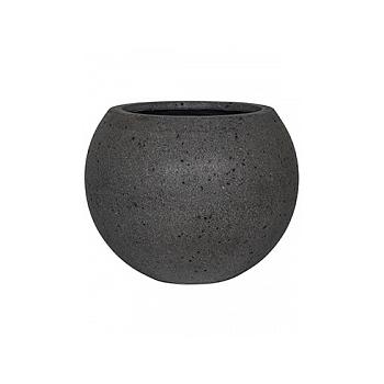 Кашпо Pottery Pots Eco-line beth s, laterite grey, серого цвета  Диаметр — 50 см