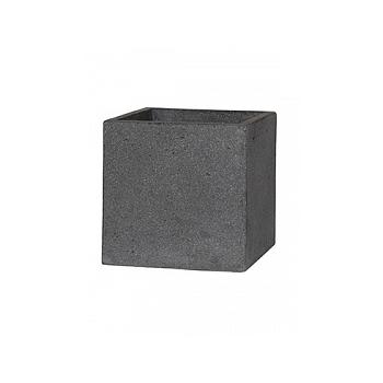 Кашпо Pottery Pots Eco-line block M размер laterite grey, серого цвета Длина — 40 см