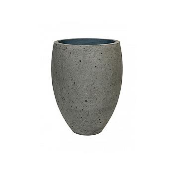 Кашпо Pottery Pots Eco-line bond M размер laterite grey, серого цвета  Диаметр — 48 см