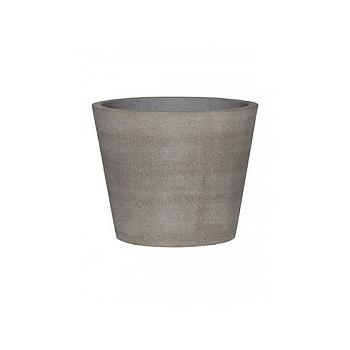 Кашпо Pottery Pots Eco-line bucket m, brushed cement  Диаметр — 50 см