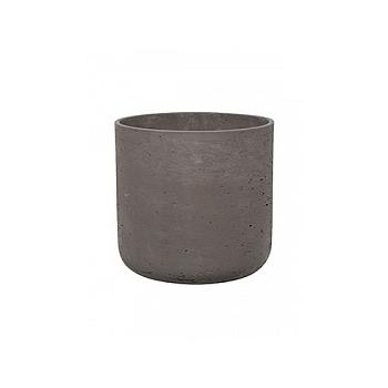 Кашпо Pottery Pots Eco-line charlie XL размер chocolate  Диаметр — 32 см