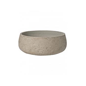 Кашпо Pottery Pots Eco-line eileen M размер grey, серого цвета washed  Диаметр — 29 см