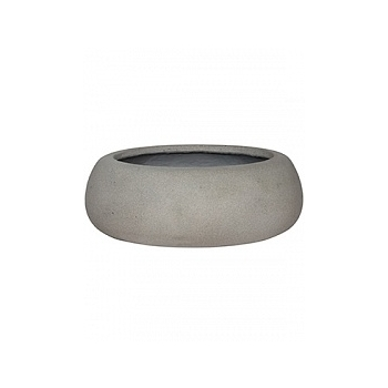 Кашпо Pottery Pots Eco-line eileen xxl, brushed cement  Диаметр — 53 см