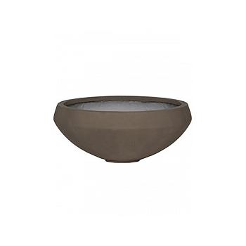 Кашпо Pottery Pots Eco-line eliza, sand cement  Диаметр — 55 см