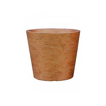 Кашпо Pottery Pots Eco-line mini bucket S размер metallic copper  Диаметр — 14 см