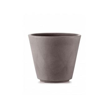 Кашпо TeraPlast Ribeira 60 cappuccino, каппучино  Диаметр — 57 см