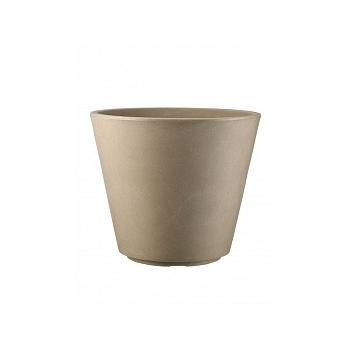 Кашпо TeraPlast Ribeira 60 toffee  Диаметр — 57 см