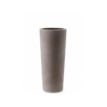 Кашпо TeraPlast Schio Cono 110 cappuccino, каппуччино  Диаметр — 45 см