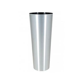 Кашпо Superline Alure conica aluminium brushed lacquered  Диаметр — 39 см Высота — 99 см