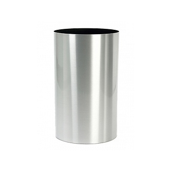 Кашпо Superline Alure pilaro aluminium brushed lacquered  Диаметр — 30 см Высота — 60 см