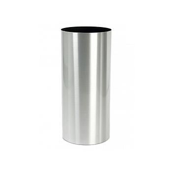 Кашпо Superline Alure pilaro aluminium brushed lacquered  Диаметр — 35 см Высота — 90 см