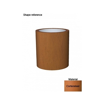 Кашпо Superline Cortenstyle® basic standard topper  Диаметр — 48 см Высота — 52 см