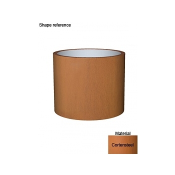 Кашпо Superline Cortenstyle® basic standard topper  Диаметр — 95 см Высота — 77 см
