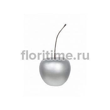Вишня декоративная Cherry под цвет серебра M размер  Диаметр — 32 см Высота — 38 см