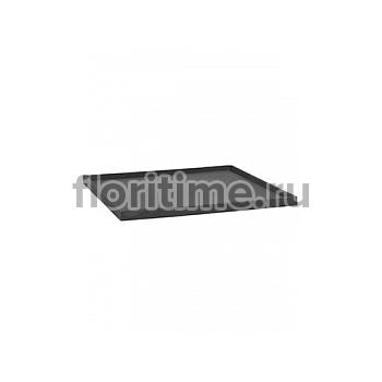 Поддон Pottery Pots Fiberstone saucer block 60, grey, серого цвета Длина — 63 см  Высота — 4 см