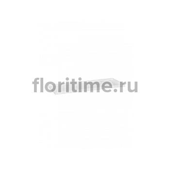 Поддон Pottery Pots Fiberstone saucer jort 40, glossy white, белого цвета Длина — 83 см  Высота — 4 см