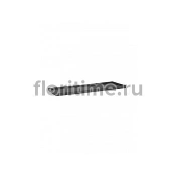 Поддон Pottery Pots Fiberstone saucer jort 40, grey, серого цвета Длина — 83 см  Высота — 4 см