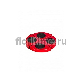 Подножки Fiberstone accessoires glossy red, красного цвета pot feet (4)