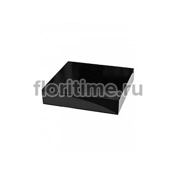 Подставка Fiberstone accessoires glossy black, чёрного цвета topper M размер (thick) Длина — 35 см  Высота — 8 см