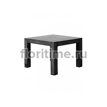 Стол Fiberstone table black, чёрного цвета S размер Длина — 100 см  Высота — 75 см