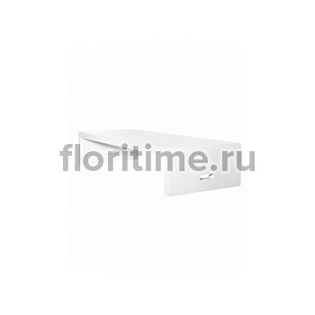 Столик журнальный Fiberstone jan des bouvrie glossy white, белого цвета salontable L размер Длина — 200 см  Высота — 40 см