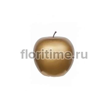 Яблоко декоративное Pottery Pots Apple gold, под цвет золота XXL размер  Диаметр — 80 см Высота — 83 см