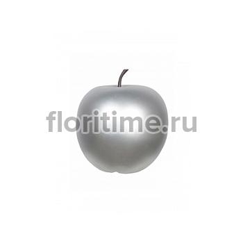 Яблоко декоративное Pottery Pots Apple под цвет серебра XL размер  Диаметр — 64 см Высота — 68 см
