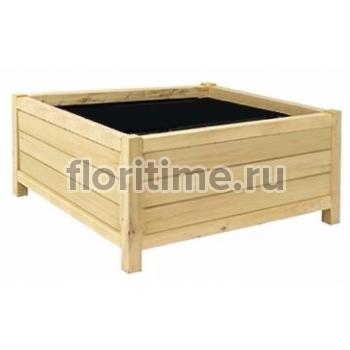 Кашпо деревянное из сосны
