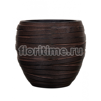 Кашпо Capi nature vase elegant ii loop brown