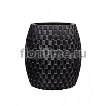 Кашпо Capi nature vase elegant wide iii wave black