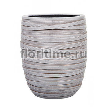 Кашпо Capi nature vase elegant high iii loop ivory