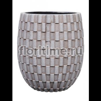 Кашпо Capi nature vase elegant high ii wave ivory