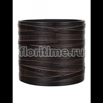 Кашпо Capi nature vase cylinder i loop brown