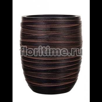 Кашпо Capi nature vase elegant high iii loop brown