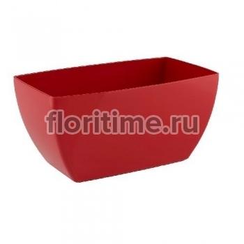 Luxury, удлиненное кашпо цвет красный