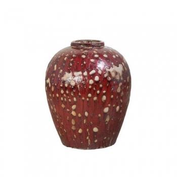 Кашпо Mystic ocean Wine Jar, красный