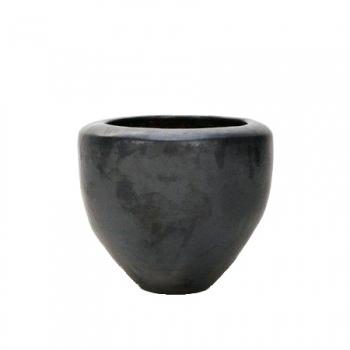Кашпо Couple, керамика, антрацит