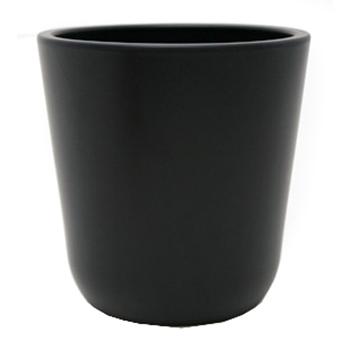 Кашпо Cooper, керамика, угольный