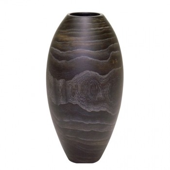 Кашпо WOODY MIDNIGHT Vase, дерево