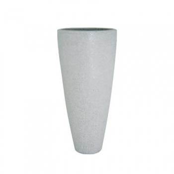 Кашпо GLITTER vase, полистоун