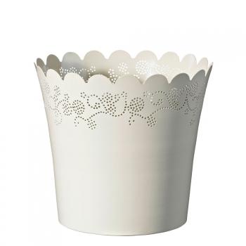 Горшок Deroma Lace vaso, white
