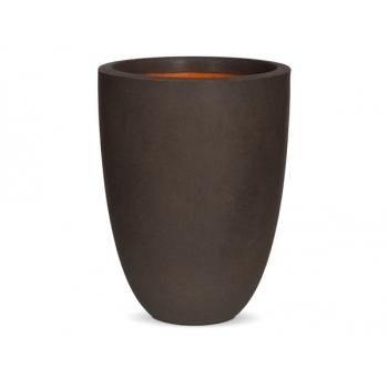 Кашпо Capi Tutch Vase Elegance Low, Brown