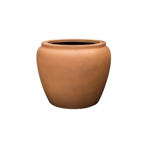 Кашпо Alegria Waterjar round, ржавые железные