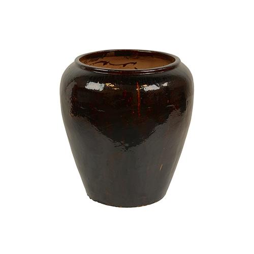 Кашпо Mystic pot, черный
