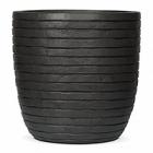 Кашпо Capi Nature row pot round anthracite, антрацит