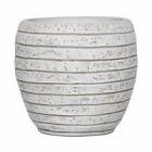 Кашпо Capi Nature row vase elegant ill ivory, слоновая кость