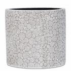 Кашпо Capi Nature wood vase cylinder 2-й размер ivory, слоновая кость