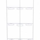 Держатель для Кашпо Artstone amy potrack white, белого цвета (9x hole for 10 cm) Длина — 39 см